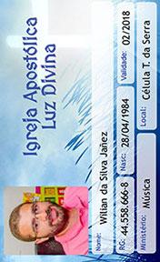Cartão de membro de Igreja