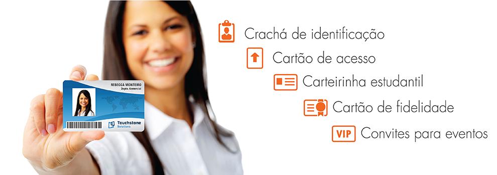Banner Crachá de Identificação - CardPress